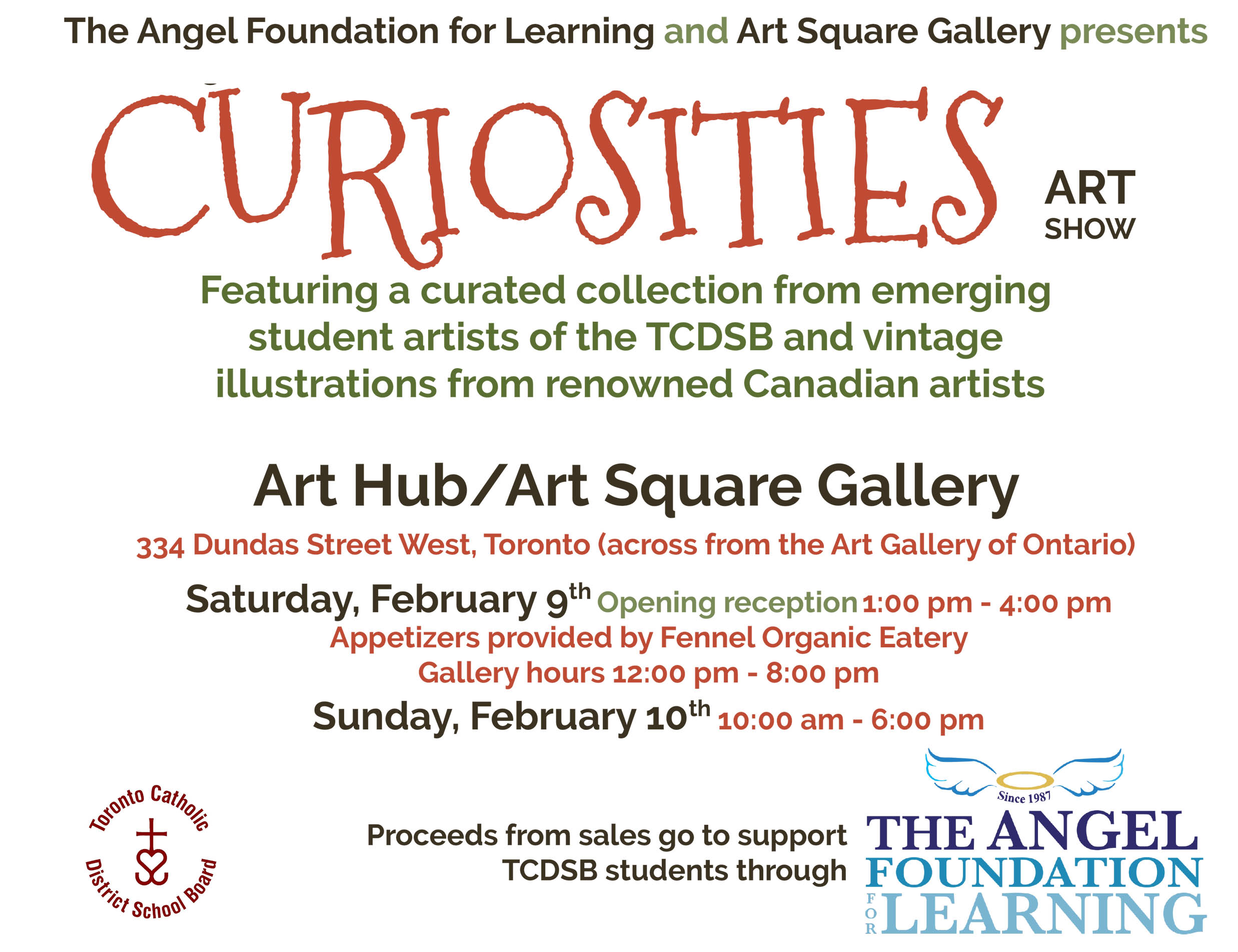 Curiosities page banner info